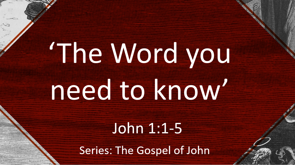 The Word you need to know