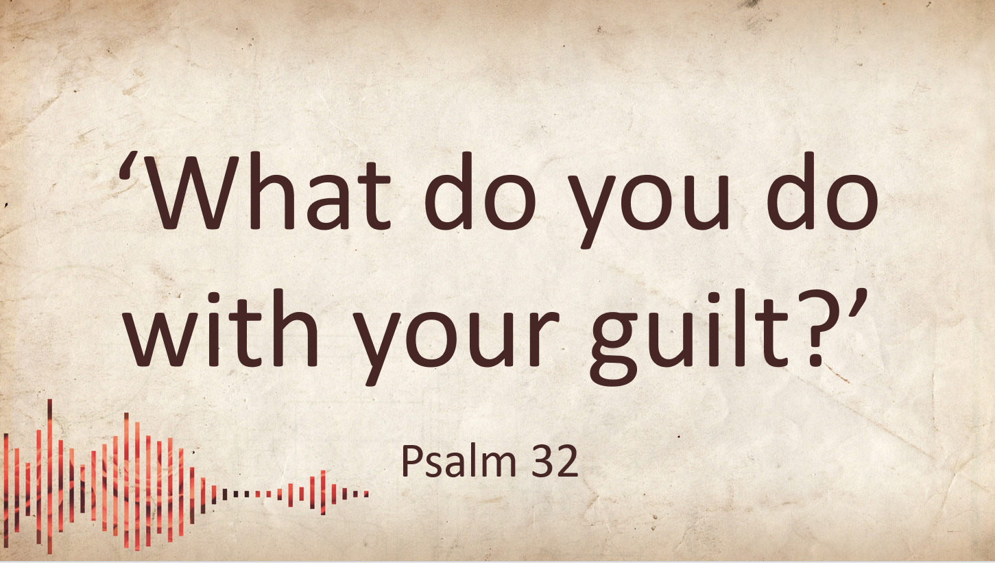 What do you do with your guilt?